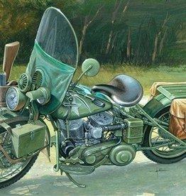 Italeri (ITA) 1/9 WLA 750 US Military Motorcycle