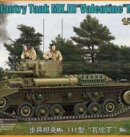 Bronco Models (BOM) 1/35 VALENTINE MK. XI W/P/E
