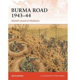 Osprey Publishing (OSP) BURMA ROAD 1943-44