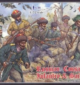Strelets (STL) 1/72 Crimean War Russian Cossacks/Inf/Sailors