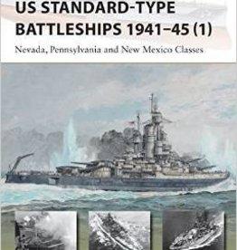 Osprey Publishing (OSP) US Standard-Type Battleships 1941-45 (pt.1) (SC)