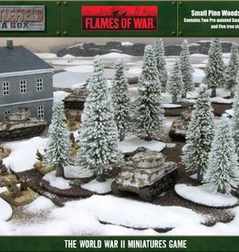Flames of War (FOW) Small Pine Wood (Winter)