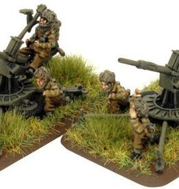 Flames of War (FOW) 15mm 20mm Polsten AA Gun (Para)