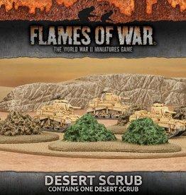Flames of War (FOW) 15mm Desert Scrub