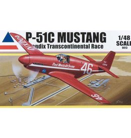 Accurate Miniatures (ATE) 1/48 P-51C Mustang, Air Racer