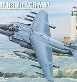 Trumpeter Models (TSM) 1/32 RAF Harrier GR. MK7 Attack Aircraft, NV