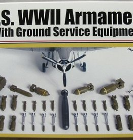 Accurate Miniatures (ATE) 1/48 US WWII Armaments & Ground Equip