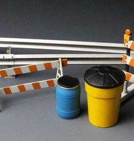 Meng (MGK) 1/35 Barricades & Guardrails Set