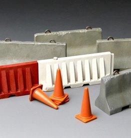 Meng (MGK) 1/35 Concrete & Plastic Barrier Set
