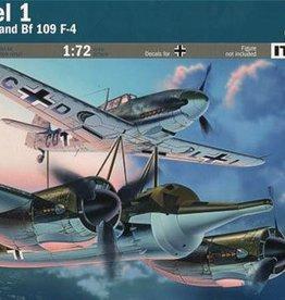Italeri (ITA) 1/72 Mistel 1 Ju 88A-4 w/Bf 109F