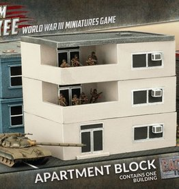 Flames of War (FOW) 15mm Apartment Block