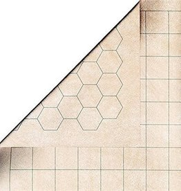 "Chessex (CHX) Reversible Megamat 1"" sq/hex 34.5 x 48"""