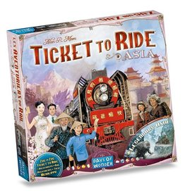 Days of Wonder (DOW) Ticket to Ride Asia Map Collection