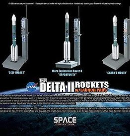 Dragon Models (DML) 1/400 DELTA II ROCKETS W / LAUNCH
