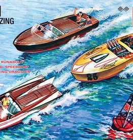 AMT (AMT) 1/25 Customizing Boat 3-in-1