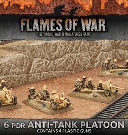 Flames of War (FOW) 15mm 6 Pdr Anti Tank Platoon