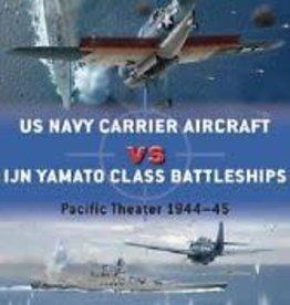 Osprey Publishing (OSP) USN Aircraft vs IJN Yamato (SC)