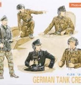 Dragon Models (DML) 1/35 Waffen SS Tank Crew