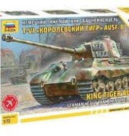 Zvezda (ZVE) 1/72 King Tiger Ausf B Henschel Turret (Snap)