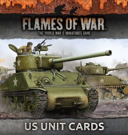 Flames of War (FOW) FOW Armies of Late War US Unit Cards