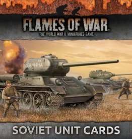 Flames of War (FOW) FOW Armies of Late War Soviet Unit Cards