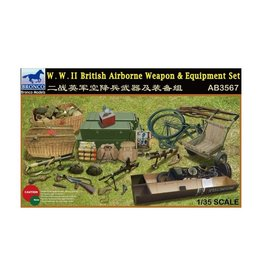 Bronco Models (BOM) 1/35 British Airborne Weapons & Equipment Set