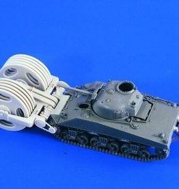 Verlinden (VER) 1/48 M4 Sherman Mineroller