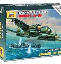 Zvezda (ZVE) 1/200 Junkers Ju88A4