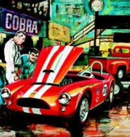 AMT (AMT) 1/25 Cobra Racing Team(53 Ford Pickup, 63 Cobra, and trailer)