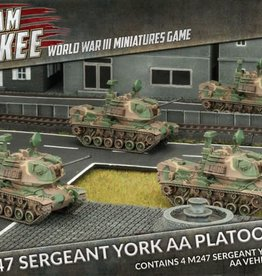 Flames of War (FOW) 15mm M247 Sergeant York AA Platoon