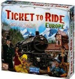 Days of Wonder (DOW) Ticket to Ride Europe