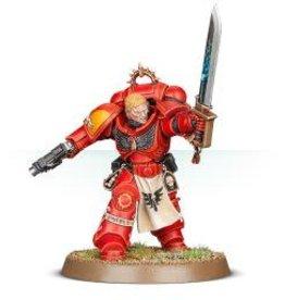 Games Workshop (GAW) Blood Angel Primaris Lieutenant Tolmeron