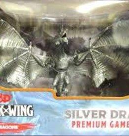 Wizkids (WZK) DDAW: Premium Silver Dragon Figure