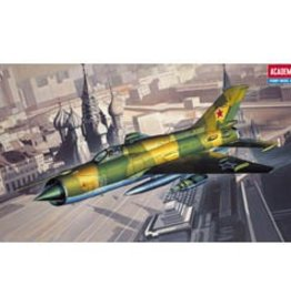 Academy/Model Rectifier Corp. (ACY) 1/48 MiG 21PF Fishbed D
