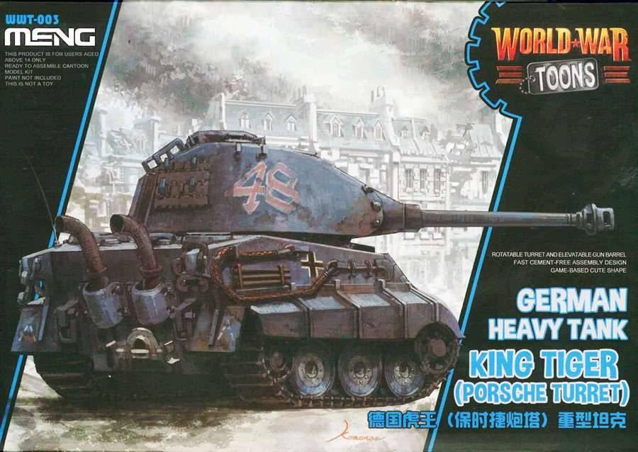 Meng (MGK) GERMAN TOON TANK KING TIGER