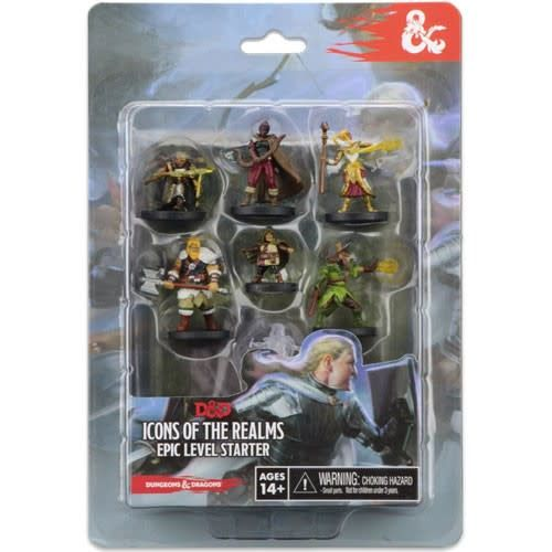 Wizkids (WZK) D&D Icons of the Real Epic Level Starter Set