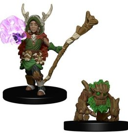 Wizkids (WZK) Wardlings- Boy Druid & Tree Creature
