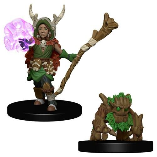 Wizkids (WZK) Wardlings- Boy Druid & Tree Creature