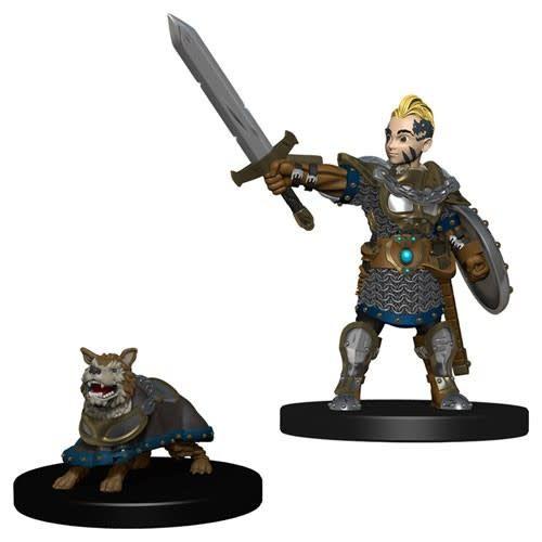 Wizkids (WZK) Wardlings - Boy Fighter & Battle Dog
