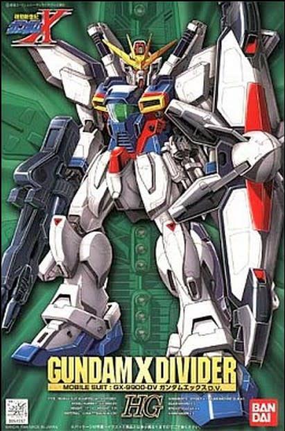 Bandai (BAN) 1/100 Gundam X Divider