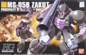 Bandai (BAN) 1/144 MS-05B Zaku I Black Tri Stars HG