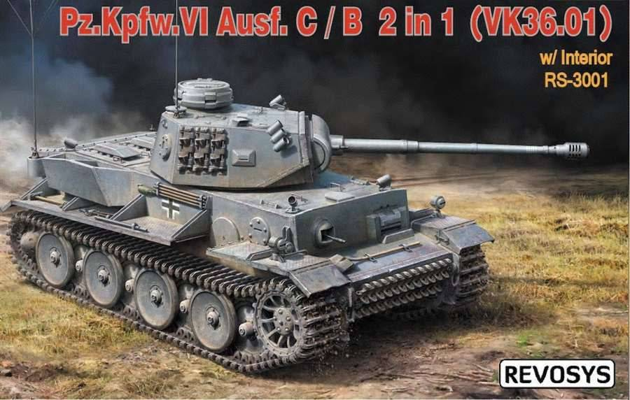 1/35 PzKpfw VI Ausf C/B w/Interior
