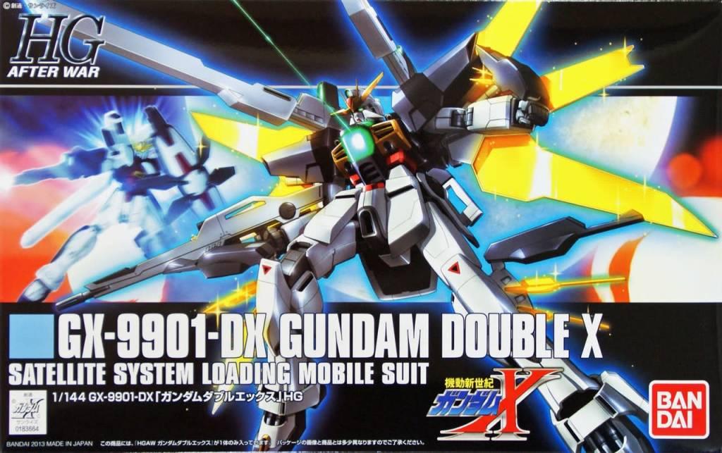 Bandai (BAN) 1/144 GX-9901-DX Gundam Double X HG