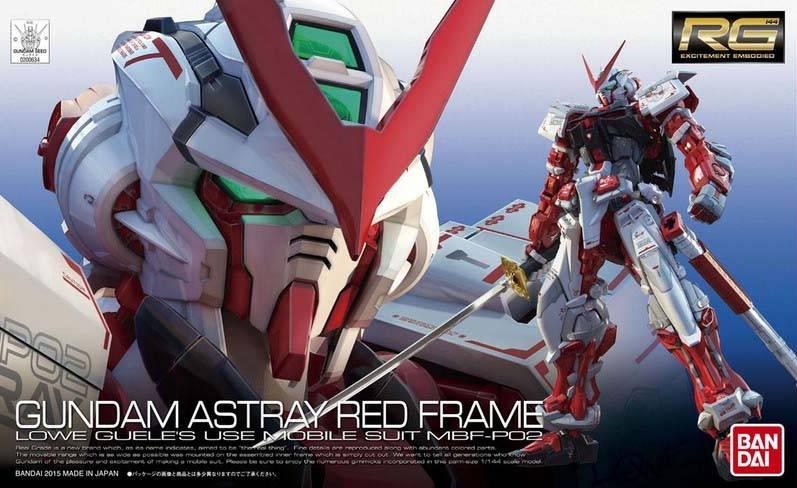 Bandai (BAN) 1/144 Gundam Astray Red Frame