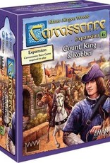 Z Man Games (ZMG) Carcassonne: exp 6 Count/King/Robber
