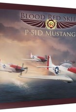 Warlord Games (WLG) US P-51 MUSTANG SQUADRON 3, 6PLANES