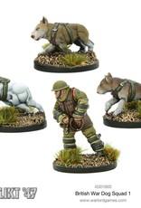 Warlord Games (WLG) K47 BRITISH WAR DOG SQUAD 1
