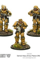 Warlord Games (WLG) K47 GERMAN HEAVY ARMOUR PLATOON OFFICER