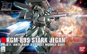 Bandai (BAN) 1/144 RGM-89S Stark Jegan HG UC