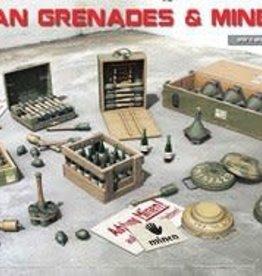 MiniArt (MNA) 1/35 German Grenades & Mines